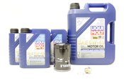 Porsche Oil Change Kit 5W-40 - Liqui Moly KIT-524665