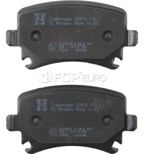 Audi VW Brake Pad Set - Zimmermann 8E0698451J