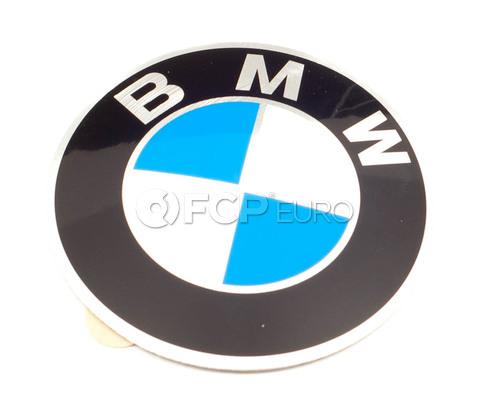 BMW Wheel Center Cap Emblem (65mm) - Genuine BMW 36131181080