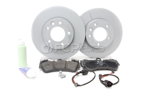VW Brake Kit Front - Zimmermann/Pagid 420749