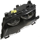 BMW Headlight Assembly Left (325Ci 330Ci)  - Magneti Marelli 63126920605