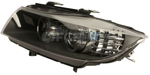 BMW Bi-Xenon Headlight Assembly Left - Hella 63117240245