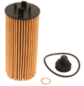 BMW Oil Filter Kit - Mahle OX815DECO