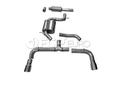 VW Cat-Back Exhaust System - CORSA 14834
