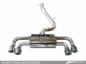 VW Track Edition Catback Exhaust System - AWE Tuning 301543070