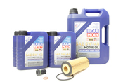 Mercedes Oil Change Kit 5W-40 - Liqui Moly 2781800009.9L.Dual