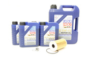Porsche Oil Change Kit 5W-40 - Liqui Moly KIT-538469