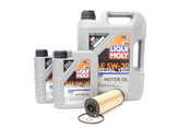 BMW Oil Change Kit 5W-30 - Liqui Moly 11428583898.LM