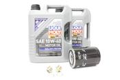 Porsche Oil Change Kit 10W-40 - Liqui Moly KIT-524662