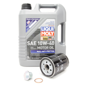 Porsche Oil Change Kit 10W-40 - Liqui Moly  KIT-524664