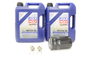 Porsche Oil Change Kit 5W-40 - Liqui Moly KIT-524668
