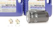 Porsche Oil Change Kit 5W-40 - Liqui Moly KIT-524668