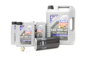 Porsche Oil Change Kit 10W-40 - Liqui Moly KIT-525120