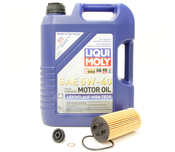 BMW Oil Change Kit 5W-40 - Liqui Moly 11428570590.LM1