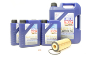 Mercedes Oil Change Kit 5W-40 - Liqui Moly 2781800009.9L.W253