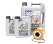 BMW Oil Change Kit (M5) - Mann/Liqui Moly 534998