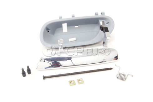 Volvo Exterior Door Handle Chrome Rear Left Outer (S40 V40) - Genuine Volvo 30652234