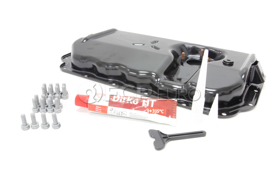 Audi VW Oil Pan Kit - Genuine Audi VW 06E103604FKT