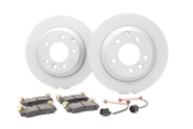 Audi VW Brake Kit - Zimmermann/Hawk TOUABK3