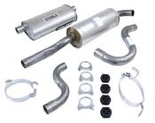 Volvo Exhaust System Muffler Kit (740 940 8 Valve) Starla 271376