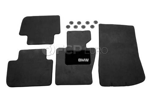 BMW Carpeted Floor Mat Set (E83) - Genuine BMW 82110305002