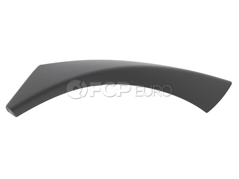 BMW Interior Door Handle Trim Right (Grey) - Genuine BMW 51416971292