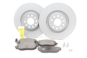 Audi VW Brake Kit - Zimmerman / Textar KIT-528825