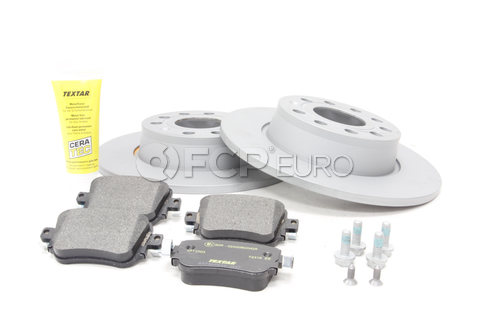 Audi VW Brake Kit - Zimmermann / Textar KIT-528882