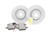 VW Brake Kit - Zimmerman / Textar KIT-528893