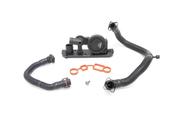 Audi VW Crankcase Breather System Kit - Vaico/Reinz 535005