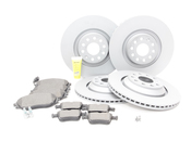 Audi VW Brake Kit - Zimmermann / Textar KIT-528841