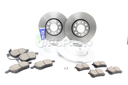 Audi VW Brake Kit - Zimmermann/Akebono B5C5BKBRE