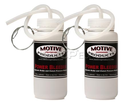 Brake Bleed Catch Bottle Kit - Motive Products MOT1820