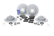 VW Brake Kit - Zimmermann KIT-535576