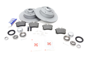 VW Brake Kit - Zimmermann KIT-535575