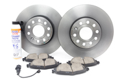 Audi VW Brake Kit - Zimmermann/ Akebono KIT-528849