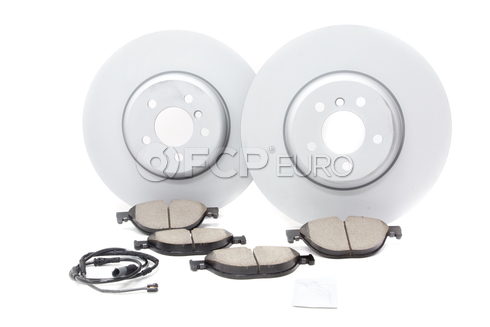 BMW Brake Kit - Zimmermann/Akebono 34116785675KTF