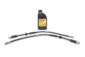 BMW Brake Hose Kit - Genuine BMW 34306792254KT
