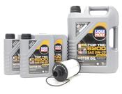 Land Rover Oil Change Kit 0W20 - Liqui Moly KIT-536247
