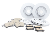 Audi Brake Kit - Zimmermann/Akebono 536344