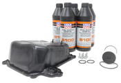 VW DSG Transmission Oil Pan Kit with Fluid - Genuine VW Audi / Liqui Moly 02E325201DKT2