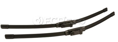 Audi VW Windshield Wiper Blade Set - Bosch 5C1955425
