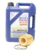 BMW 5W-40 Oil Change Kit - 11428683196KT2.LM.AWD