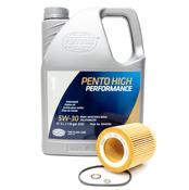 BMW 5W-30 Oil Change Kit - 11428683196KT4.LM.AWD