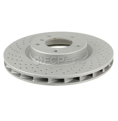 BMW Drilled Brake Disc - Zimmerman Sport 34112227171