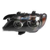 BMW Adaptive Xenon Headlight Assembly Left - Hella 63127162115