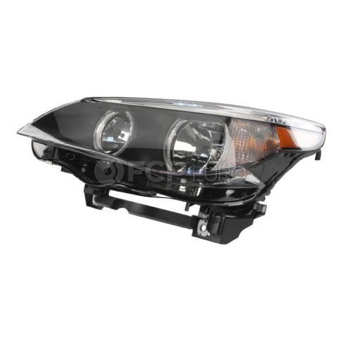 BMW Headlight Assembly w/o Adaptive Left (E60 E61) - Hella 63127166115