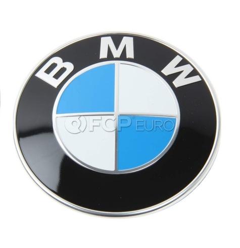 BMW Roundel Emblem - Genuine BMW 51147057794