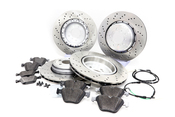 BMW Brake Kit - Genuine BMW 34112283801KTFR3