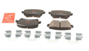 Audi VW Brake Pad Set - TRW 1K0698451L